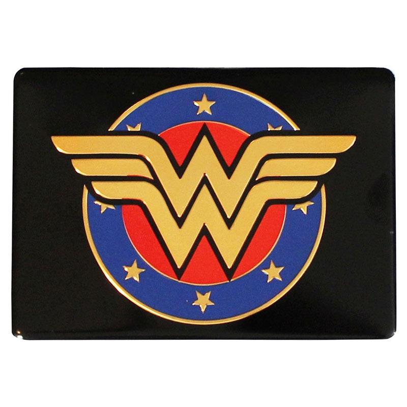 Wonder Woman Comic Shield Metal Magnet