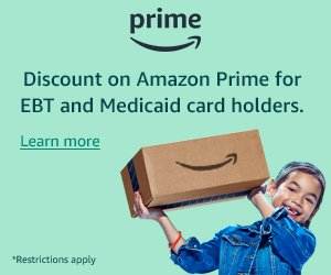 Discount on Amazon Prime