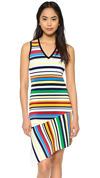 Milly Pop Stripe Dress - Color Multi