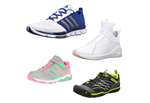 Up to 50% off athletic and outdoor shoes