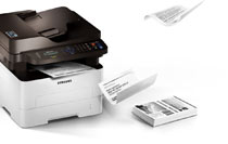 Samsung Xpress M2885FW Multifunction Printer Product Shot