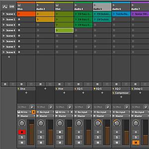 Bitwig 8-track Mixer