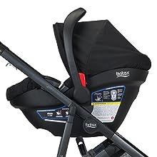 britax, b-ready, infant, car, seat, click, go