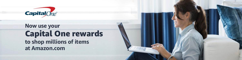Use Capital One Rewards at Amazon.com.