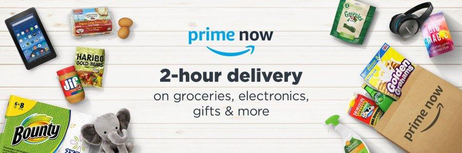 Amazon Prime Now featured image