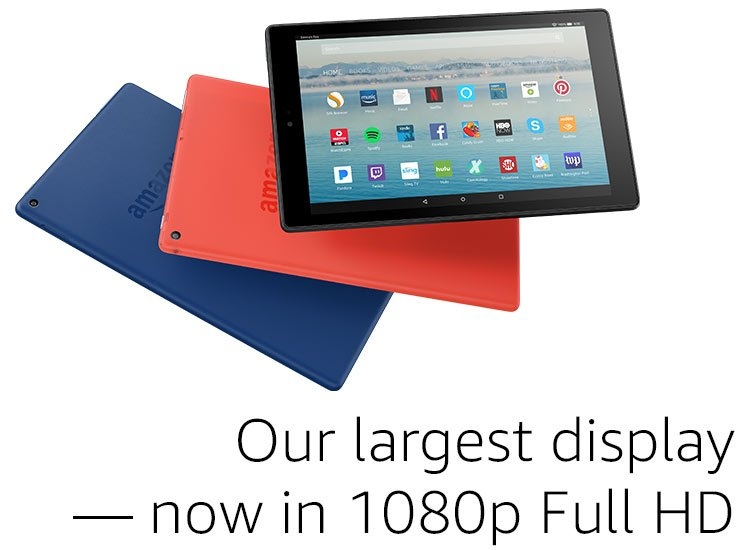 Our largest display now in 1080p Full HD.