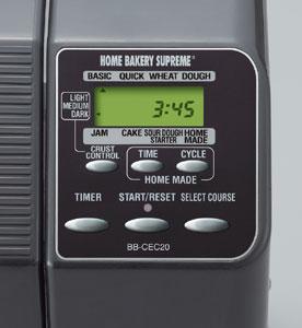 BB-CEC20 Control Panel