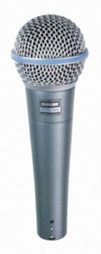 Shure BETA 58A Supercardioid Dynamic Microphone with High Output Neodymium Element for Vocal/Instrument Applications - Recording Studio - 3
