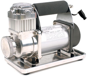 VIAIR 300P Portable Compressor with included vibration resistent tray