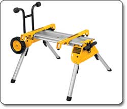 DEWALT Rolling Table Saw Stand