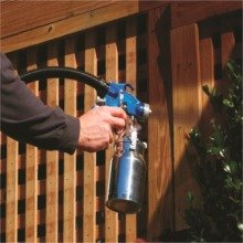 Spraying lattice with HV5500