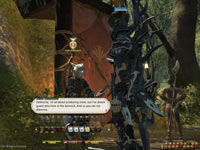 Conversation in-game in Final Fantasy XIV: A Realm Reborn