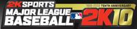 MLB 2K10 game logo