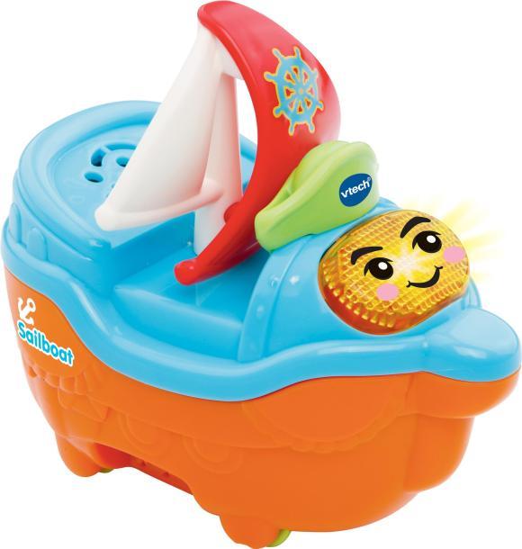 Vtech Baby Toot-Toot Splash World Sail Boat Toy: Amazon.co ...