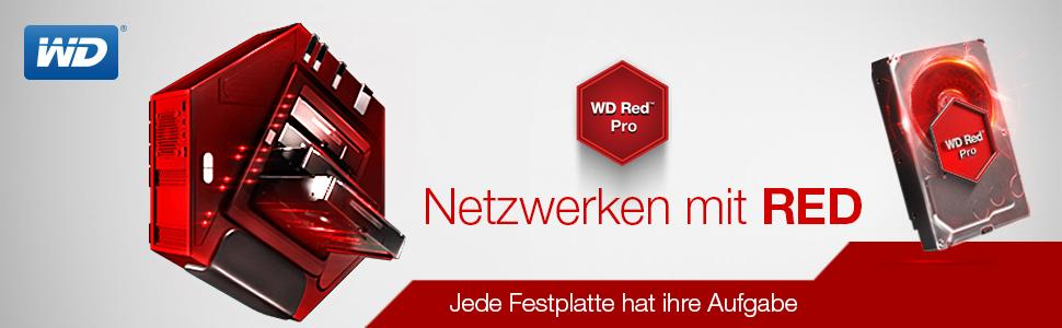 WD Red NAS HDD - WD Red Pro Serie
