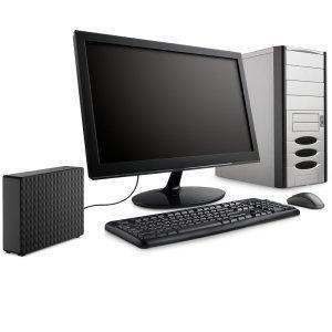 Seagate Expansion Desktop - Zusätzlicher Speicher für den PC