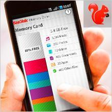 Einfache Speicherverwaltung - SanDisk Extreme 64 GB microSDXC