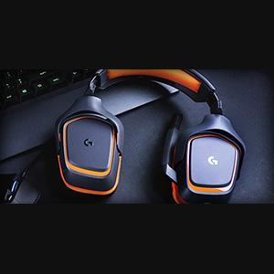 Bedienelemente am Kabel - Logitech G231 Prodigy-Gaming Stereo Kopfhörer