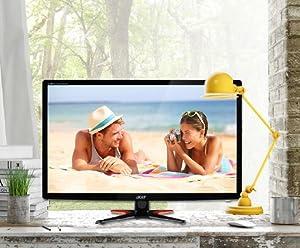Großartige Helligkeit - Acer G246HLFbid