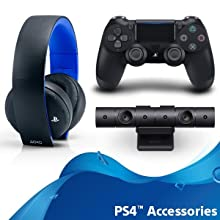 PS4 Accessories - Sony Playstation 4 Pro 1TB