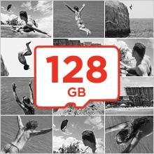 Speicherkapazitäten von bis zu 128 GB