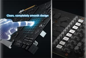 Auto-Extreme-Technologie mit Super Alloy Power II - Asus Dual GeForce GTX 1060