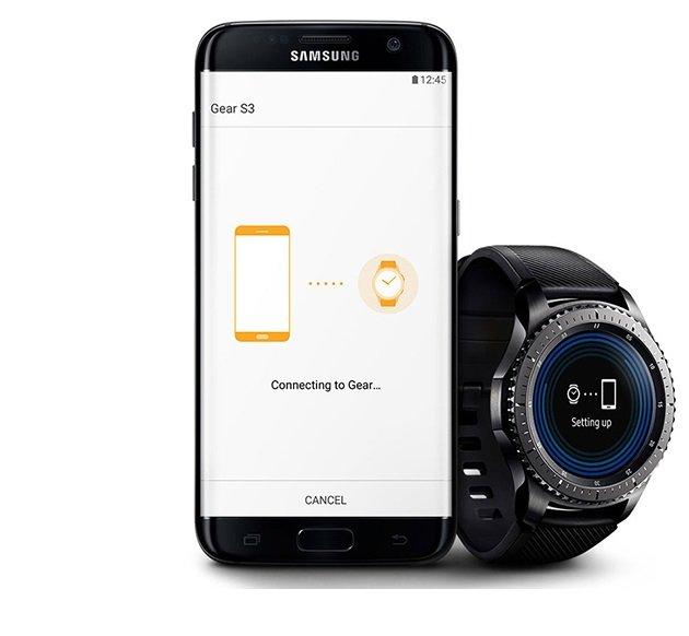 Kompatibilität - Samsung Gear S3 Frontier Smartwatch