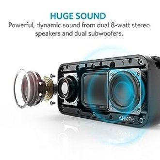 Anker SoundCore Sport XL ステレオ パッシブサブウーファー