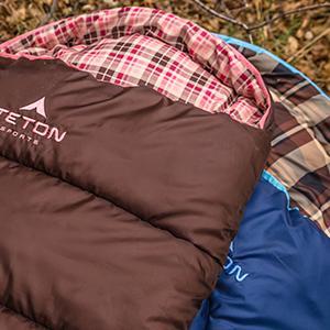 teton sports celsius junior sleeping bag