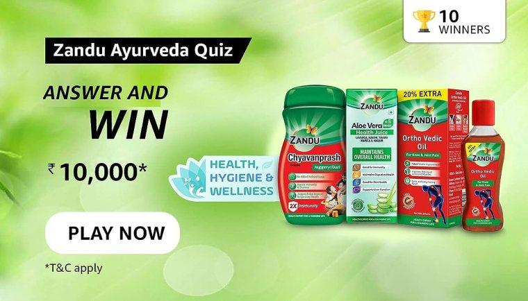 Which of the following Zandu products help build immunity ?