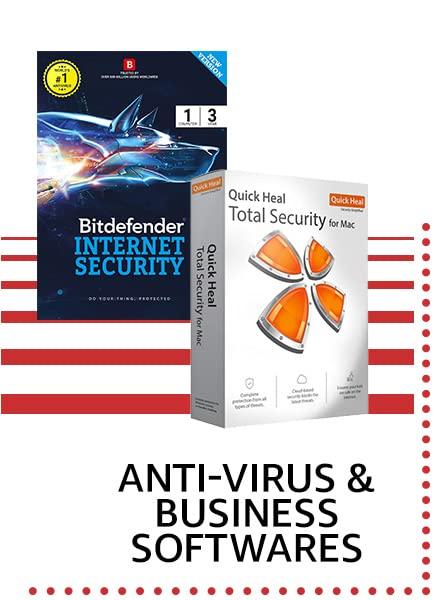 anti virus & business softwares