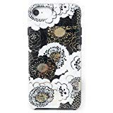 Kate Spade New York Protective Case for iPhone 8/7/6s/6 - Black/Gold/White Floral