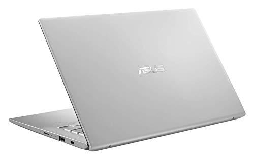 ASUS VivoBook 14 X412DA-EK140T AMD Quad Core Ryzen 5-3500U 14-inch FHD Thin and Light Laptop (8GB RAM/1TB HDD/Windows 10/Integrated Graphics/Backlit KB/FP Reader/1.50 Kg), Transparent Silver 6