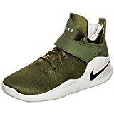 NIKE Men's Kwazi Basketball Shoes (8.5 D(M) US, Oliv / Schwarz)