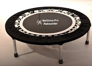 MaXimus Life Pro Gym Rebounder Package Includes Compilation DVD and Handle Bar