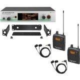 Sennheiser EW 300-2IEM G3 - In-ear Monitoring System - G-Range (566 - 608 MHz)