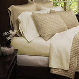 Bamboo Comfort 1800 Series, King Size, Cream, 1 Flat Sheet, 1 Fitted, 2 Pillow Cases, Wrinkle Free