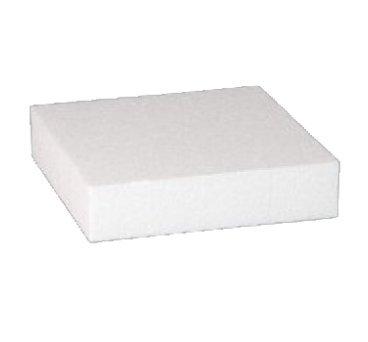 Base per Torta Quadrata in polistirolo per Cake Design