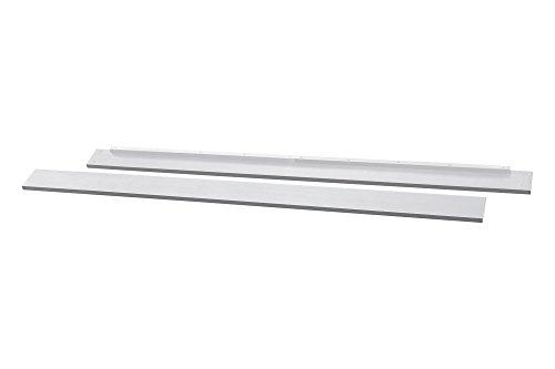 Full Size Conversion Kit Bed Rails for Davinci Kalani 4-in-1 Crib & Kalani Crib and Changer - White