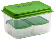 Lunch on the Go by Fit & Fresh with removable ice pack