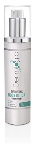 Exfoliating Body Lotion - 12% Lactic Acid Body Lotion. Provides Gentle Exfoliation & Immediate Moisture to Repair Dry Cracked Skin Conditions & Keratosis Pilaris.