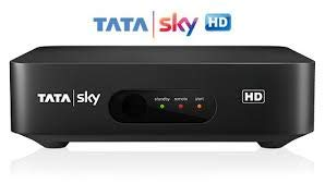 TATASKY HD Set Top Box with Secondary Connection(Black) 1