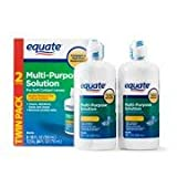 Equate - Multi-Purpose Contact Lenses Solution - 12 oz Each (2)