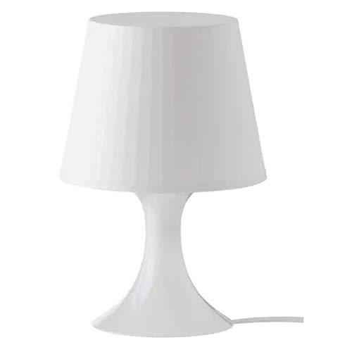 Ikea 4054673224566 Lampan Lampe De Table Plastique Blanc 19 X 19 X 15 Cm