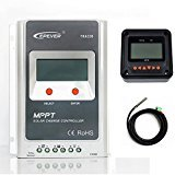 EPEVER MPPT Solar Charge Controller Tracer A Solar Controller+ Remote Meter MT-50 Solar Charge With LCD Display for Solar Battery Charging