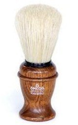 Omega Pura Setola Ash Wood Handle Shaving Brush With Free Ayur Sunscreen 50 ml 5