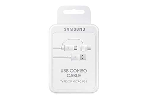 Samsung EP-DG930DWEGIN Combo USB Cable - 4.92 Feet (1.5 Meters) - (White) 5