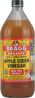 Bragg Usda Organic Raw Apple Cider Vinegar