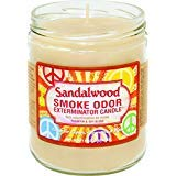 Smoke Odor Exterminator 13 oz Jar Candles Sandalwood (3)