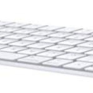 Apple Magic Keyboard (Wireless, Rechargable) (US English) – Silver
